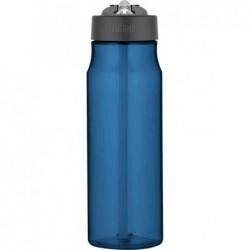 THERMOS Gourde STRAW, 0,77 litre, en tritan, bleu