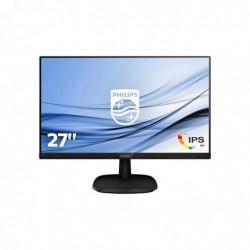 "PHILIPS 273V7QDSB Écran Plat PC 68,6 cm (27"") 1920 x 1080 Pixels Full HD LED 5 ms Noir"