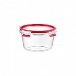 EMSA Boîte de conservation CLIP & CLOSE verre, rond, 0,90 L