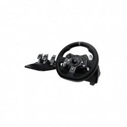 LOGITECH G920 Volant + Pédales pour Xbox One/PC Noir