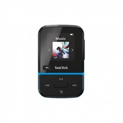 SANDISK Lecteur MP3 Clip Sport Go 32GB Bleu