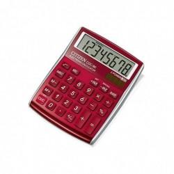 CITIZEN Calculatrice de bureau CDC80 Rouge