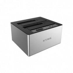 ICY BOX Dockstation CloneStation Sata USB 3.0 2 & 3'1/2 6G