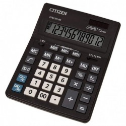 CITIZEN Calculatrice de table CDB1201-BK, New Business Line noir