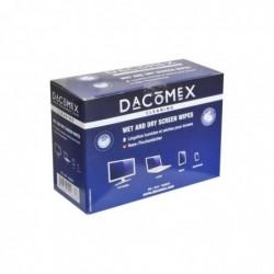DACOMEX Duo Boite de 2 x 10 lingettes pour Ecrans LCD/TFT