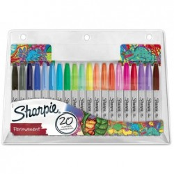 """SHARPIE Pack de 20 marqueurs permanents FINE """"Chaméléon"""""""