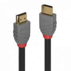 LINDY Câble HDMI High Speed, Anthra Line, 3m