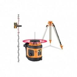 GEO-FENNEL Pack laser rotatif automatique horizontal portée 400m FL 190A + trépied + mire