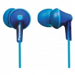 PANASONIC RP-HJE 125 E-A Ecouteur intra Auriculaire avec Micro Bleu
