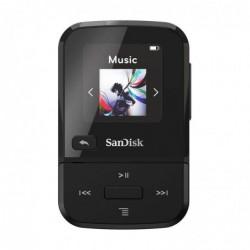 SANDISK Lecteur MP3 Clip Sport Go 32GB SDMX30-032G-G46K Noir