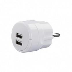 HAMA Chargeur / Alimentation  2 ports USB - 2,1A