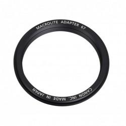 CANON Adaptateur Flash Macro 67 pour Appareil photo MR14EX / MT24 EX