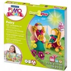 "FIMO kids Kit de modelage Form & Play ""Fairy"", niveau 3"