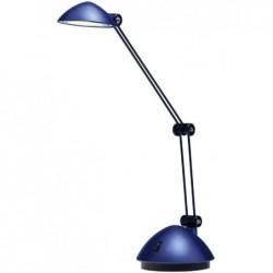 HANSA Lampe de bureau LED Space, bleu nuit satiné