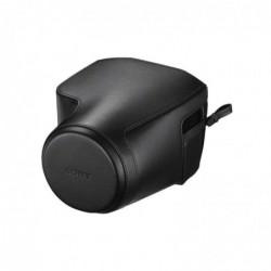 SONY LCJ-RXJ Étui en polyuréthane sur Mesure pour Sony DSCRX10M3 Noir