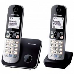 PANASONIC éléphone DECT Duo KXTG6812GB Noir