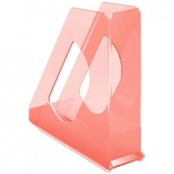 ESSELTE Porte-revues Colour'Ice, A4, polystyrène, abricot