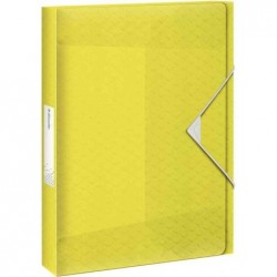 ESSELTE Boîte de classement Colour'Ice, A4, pp, jaune