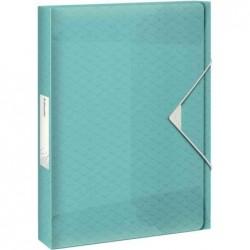 ESSELTE Boîte de classement Colour'Ice, A4, pp, bleu