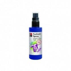"MARABU Peinture sur soie ""Fashion-Spray"", BLEU NUIT, 100 ml"