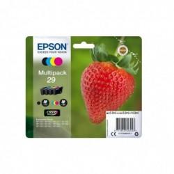 EPSON Multipack Cartouche Originale T2986  Fraise - Noir, Cyan, Magenta, Jaune