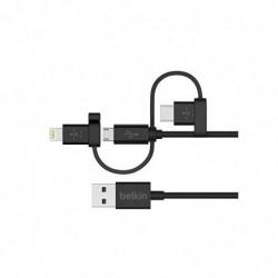 BELKIN MIXIT Universal Kabel Lightning, Micro-USB, USB-C 1,2m