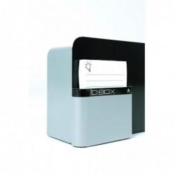 ALBA Boîte à idées IDBOX à clé, compartiment fiches - L28 x H19 x P10,5 cm Gris