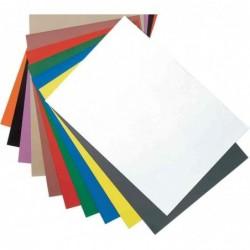 MAGNÉTOPLAN Feuille Papier Magnétique à Découper format A4 Jaune