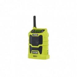 RYOBI R18R-0 Radio de Chantier Sans Fil 18V (sans Accu ni Chargeur)