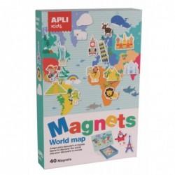 APLI Boite jeu magnétique...