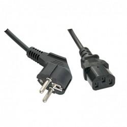 LINDY Câble secteur IEC, 2m