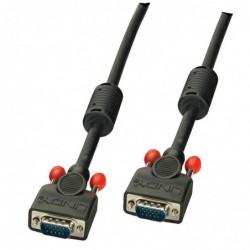 LINDY Câble VGA M/M, noir, 5m