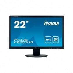 IIYAMA Ecran IIYAMA E2283HS-B3 VGA/HDMI/Displayport + HP - 22''