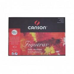 """CANSON Bloc papier dessin """"Figueras"""", 330 x 240 mm, 290 g/m2 10 feuilles"""