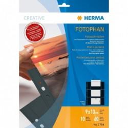 HERMA Pqt de 10 Pochettes...