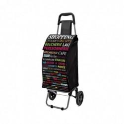 """DOMOCLIP Chariot de Course """"Shopping""""  à Roulette 40 Litres"""