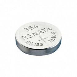 RENATA Blister de 1 Pile bouton oxyde argent X364 SR621SW