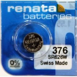 RENATA Blister de 1 Pile bouton oxyde argent X376 SR626SW