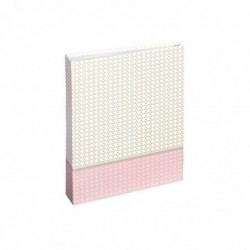HAMA Album Filigrana pour 40 Photos 10x15 cm, Rose