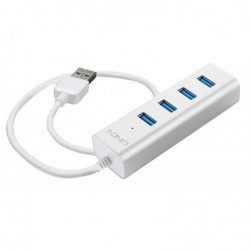 LINDY Hub USB 3.0 4 ports pour Notebook