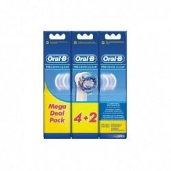 ORAL-B Pack de 6 brossettes Oral-B Precision