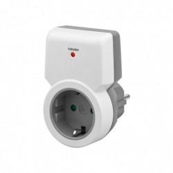 GOOBAY Schuko Remote Control Socket, gris-blanc - pour étendre ou remplacer le kit de démarrage Schuko Remote Control Socket...