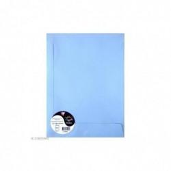 POLLEN Sachet de 5 pochettes 229x324 bleu lavande 120g