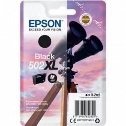 EPSON Cartouche Jet d'encre original 502XL T02W1 jumelles 9ml Noir