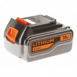 BLACK&DECKER Batterie Slide Rechargeable BL4018-XJ Lithium 18V 4.0 AH
