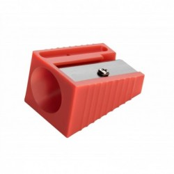 WONDAY Taille-crayon Plastique Spécial Gros Crayons Diam 17 mm Coloris Aléatoire