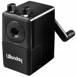 WONDAY Machine à Tailler Plastique pour Crayon  8 mm Noir