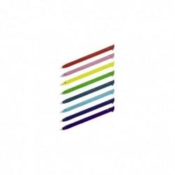 HAMA Stylets pour New 3DS XL, 8 p., couleurs arc-en-ciel