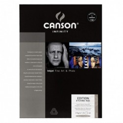 CANSON INFINITY Papier photo Edition Etching Rag 310 g A3 25 Feuilles