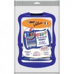 BIC Kit ardoise blanche Velleda + 8 marqueur 1721 & effacette